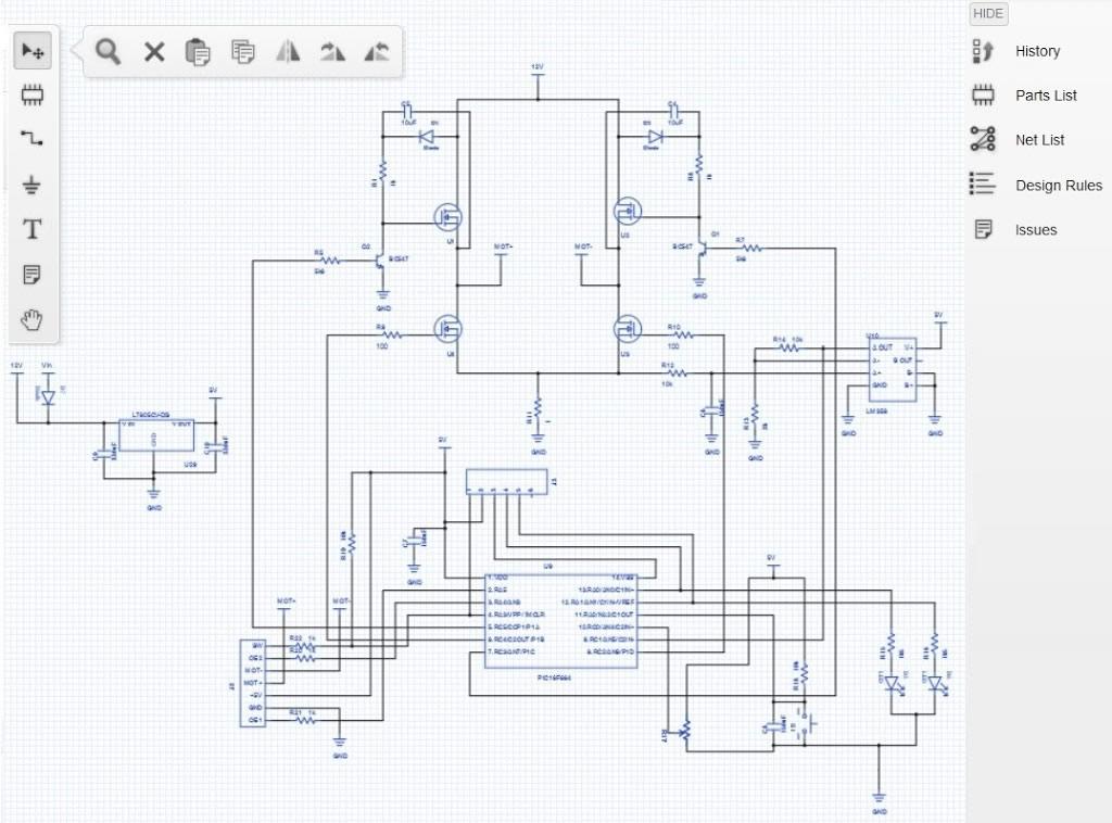 طراحی برد الکترونیکی