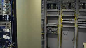 چگالش رک های تجهیزات الکتریکی