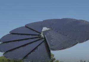 پنل خورشیدی گردان