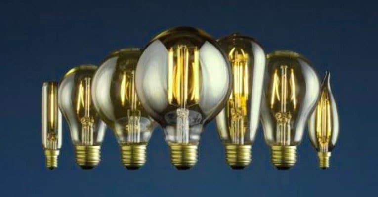 انواع لامپهای وینتیج