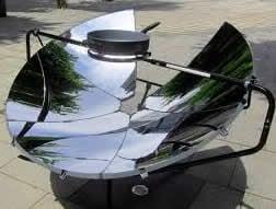 اجاق های خورشیدی